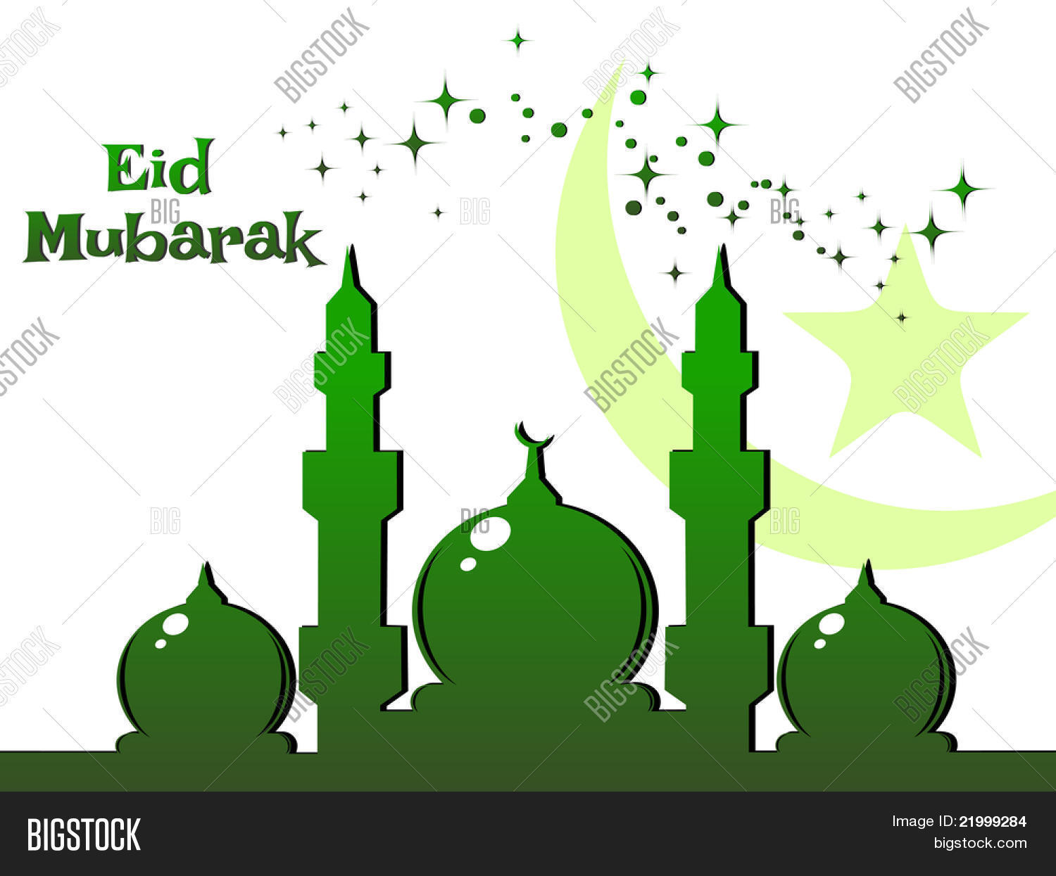 Wallpaper Eid Ul Fitr Vector Photo Free Trial Bigstock
