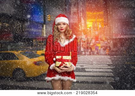 Sexy Santa Claus For The New Year.