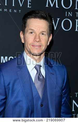 LOS ANGELES - DEC 18:  Mark Wahlberg at the