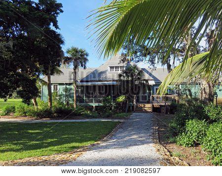 SANIBEL, FLORIDA - DECEMBER 05: The Bailey Homestead Preserve Sanibel Captiva Conservation Center Florida  2016