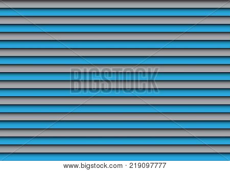 Abstract blue gray shutter pattern background vector illustration.