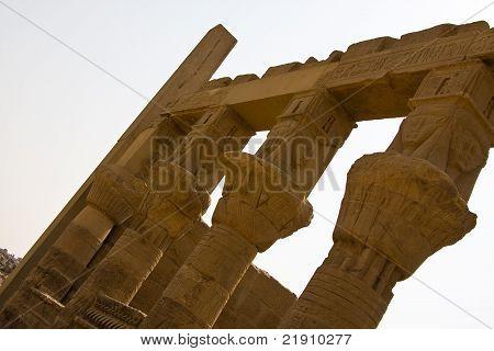 Trajan's Kiosk in Philae Temple in Aswan, Egypt