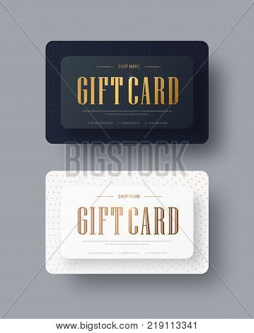 Design A Gift Black Card With Diamond-shaped Design Elements