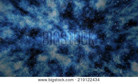 Star Field In Universe Illustration