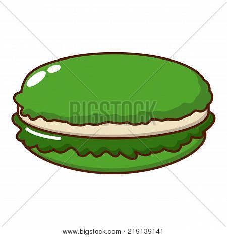 Macaroons icon. Cartoon illustration of macaroons vector icon for web