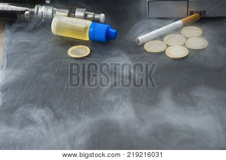 tax on liquids of electronic cigarettes in Italy