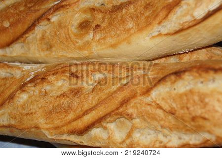 A baguette either simply baguette, so called baguette of Paris, or still French loaf, but also bread baguette is a variety of bread, recognizable in its lengthened (stretched out) shape. Even if this shape of bread is symbolic of France, the baguette is a