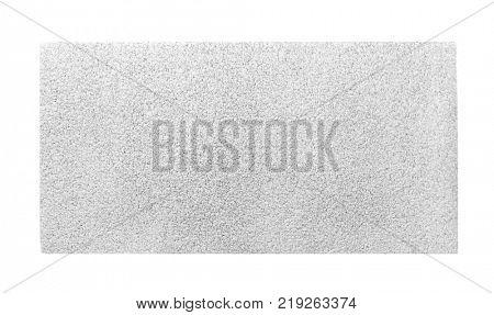 Light carpet on white background