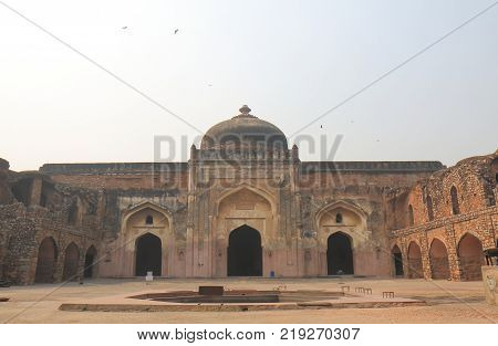 Khair Manazil Masjid Temple In New Delhi India