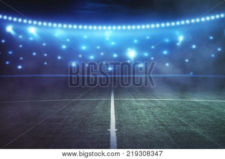 Creative Football Field Background