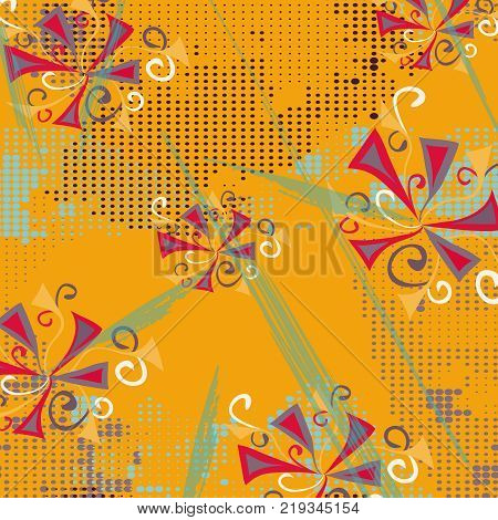 abstract colored graffiti background quality vector illustration for your design