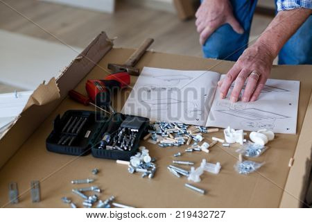 assembling flat pack furniture