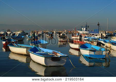 Fishing Port of Tamentfoust in Algiers, Algeria