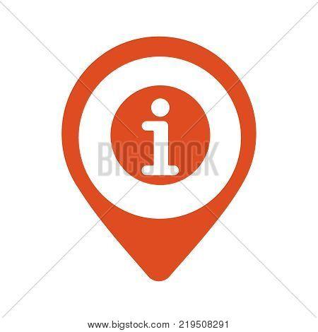 Location Icon Vector Flat Illustration Eps 10. Geotag Mark