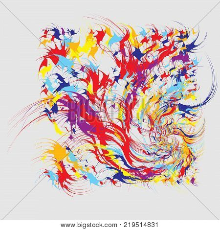 paint splatters vector photo free trial bigstock