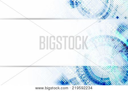 Abstract background. Futuristic technology style. Structure pattern technology backdrop. Vector