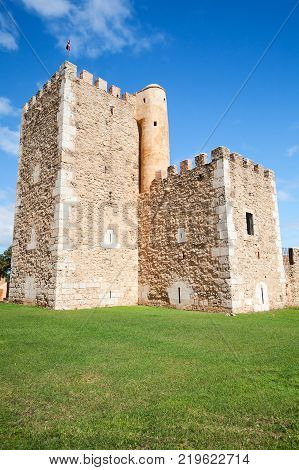 Ozama Fortress exterior sixteenth-century castle Santo Domingo Dominican Republic