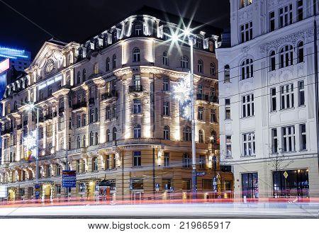 Warsaw Spire. High-rise Building. Business Center. Warszawa. Poland. Polska.