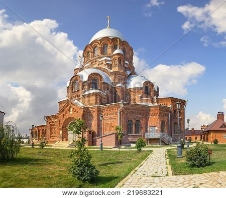 Cathedral of Our Lady Mother All the Afflicted. John the Baptist convent. Founded in the late 16th century. Sviyazhsk, Kazan, Russia