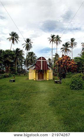 Church, Tortuguero, Costa Rica