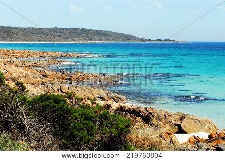 The gorgeous coastline South of Perth, Australia
