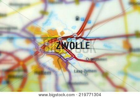 Zwolle is a city  in the northeastern Netherlands serving as Overijssel's capital.