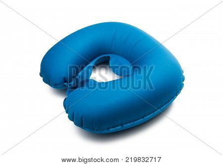pillow for neck isolated on white background