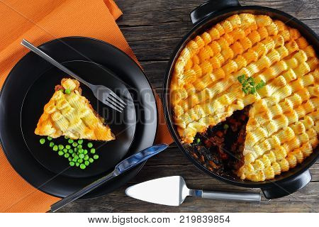 Delicious Shepherd's Pie And A Portion