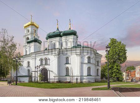The Ascension ( Voznesenskaya ) church on Ilinskaya street. Nizhny Novgorod, Russia.