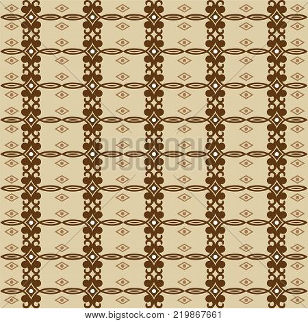 Ethnic pattern. Geometric pattern. Ethnic background pattern, Ethnic wallpaper pattern, Ethnic clothing pattern,Geometric Ethnic pattern design for background or wallpaper. Vector illustration EPS.8 EPS.10