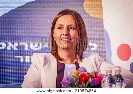 EILAT, ISRAEL. December 21, 2017. Gila Gamliel, an Israeli politician, a member of the Knesset for Likud and Minister for Social Equality.