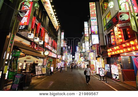 Kabukicho In Tokyo, Japan