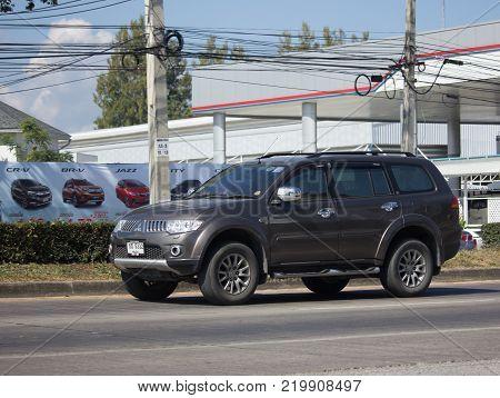 Private Mitsubishi Pajero Suv Car.