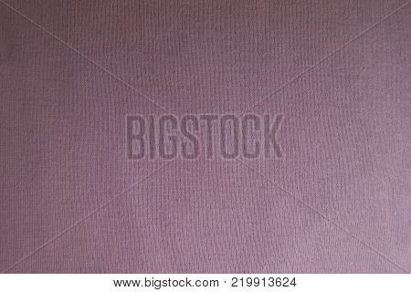 Pastel pink fabric without prints from above