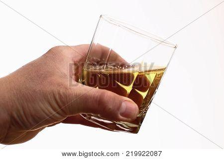 Alcohol addiction - Social problem - Alcoholism - drink glass