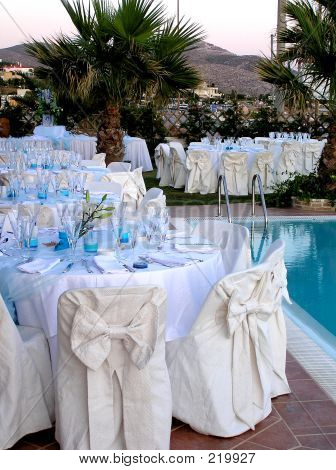 Catering By The Pool