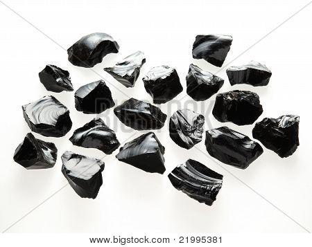 Small rough stones