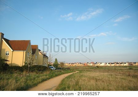 New Village of Cambourne, in Cambridgeshire, England