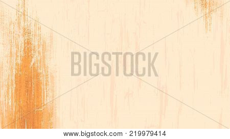 Wide format abstract grunge background. Vector without gradient. Place for text. Background for presentation, business card, flyer. Digitally wallpaper. 16 : 9