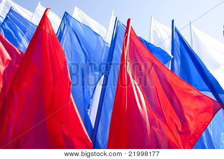 Flags Russia
