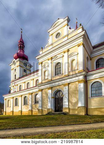 Chateau Novy Svetlov Near Village Bojkovice