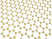 hexagon background (high resolution 3d image see portfolio) poster