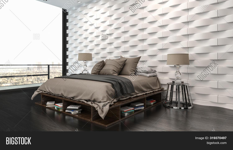 Elegant Modern Bedroom Image Photo Free Trial Bigstock