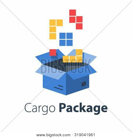 Logistics Services, Assemble Parcel, Multiple Shop Order, Pack Large Set Of Items In Box, Store Purc