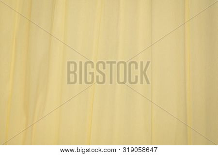 cream crepe paper - background with crinkled texture poster