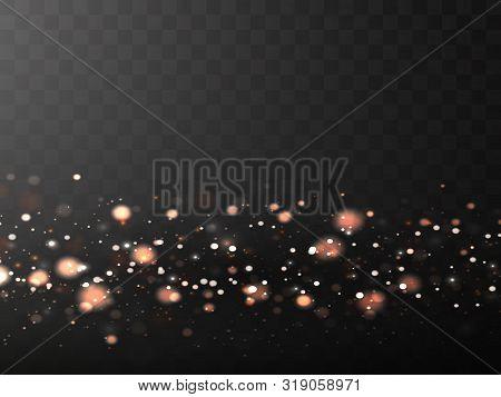 Vector Of Glare Lighting, Twinkle Lens Flares. Transparent Gradient Stars, Lightning Flare. Magic, B