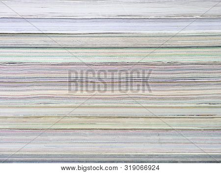Abstract Book Pile Background