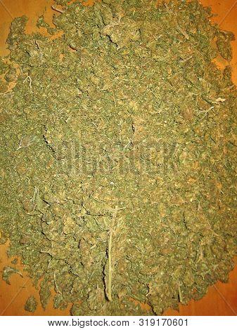 Cannabis joint preparation medical bio albanian haze macro vintage old school feelings poster