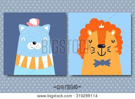 Cute Posters For Nursery. Cute Nursery Art. Decor For Baby, Kids Wall Art, Print.