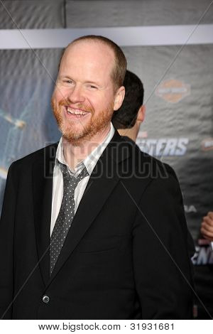 LOS ANGELES - APR 11:  Joss Whedon arrives at